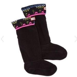 Hunter Boot Socks For Original Boots Shoe Sz 5-7
